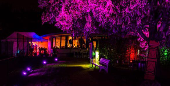 Romantisches Ambiente bei einem Event in München