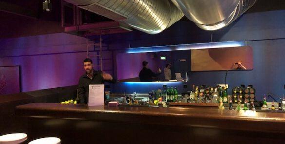 Ambiete einer mobilen Cocktailbar in München