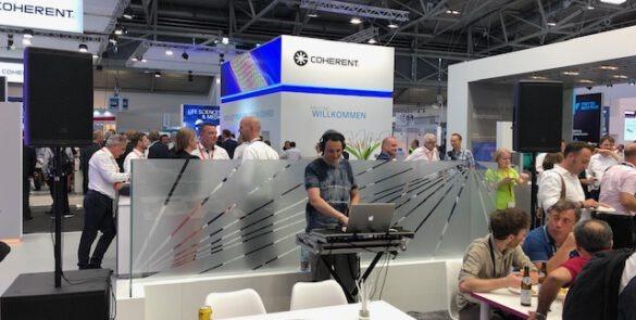 Blankoon Eventtechnik München auf einer Messe